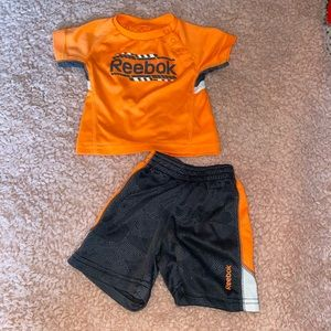 EUC Reebok Baby Boy Outfit 3-6 Months